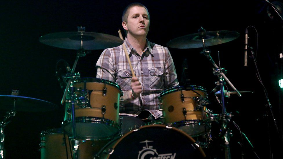 Keiron Melling, drummer from The Fall
