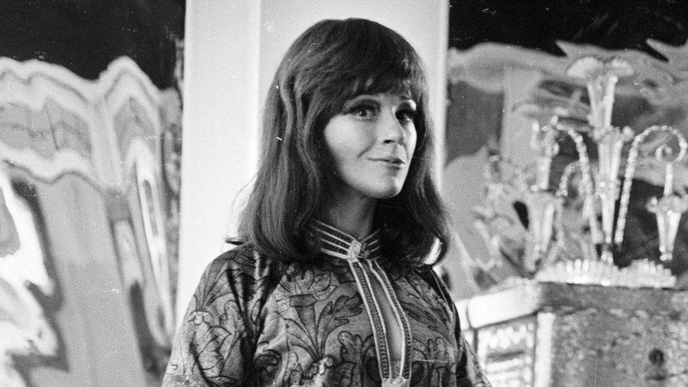 Fenella Fielding in 1966