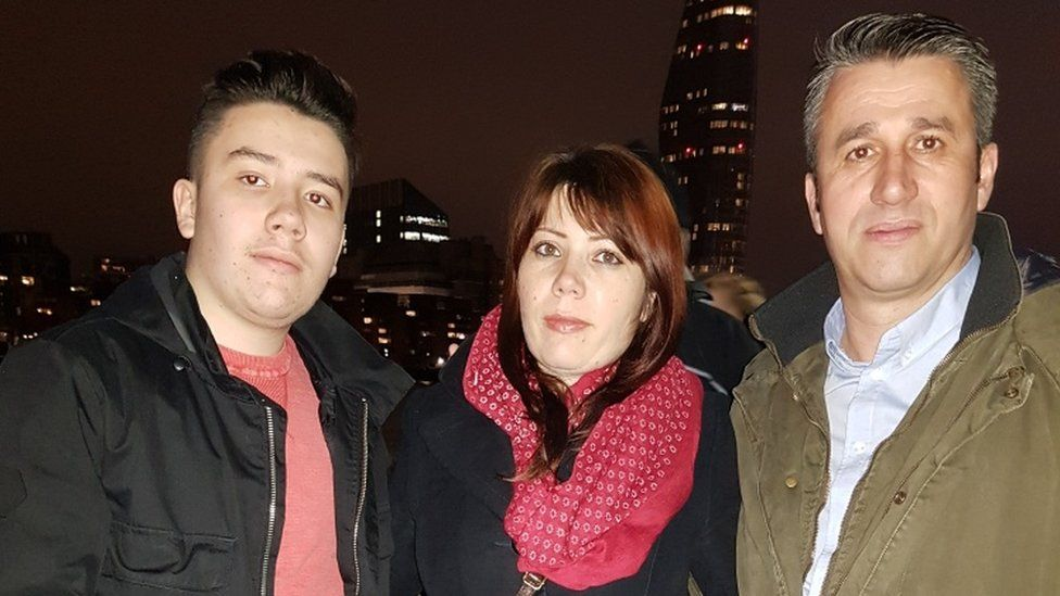Robert, Gabriela and Ionel Pintilie