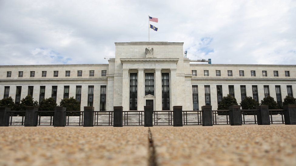 The Federal Reserve in Washington in August 2018