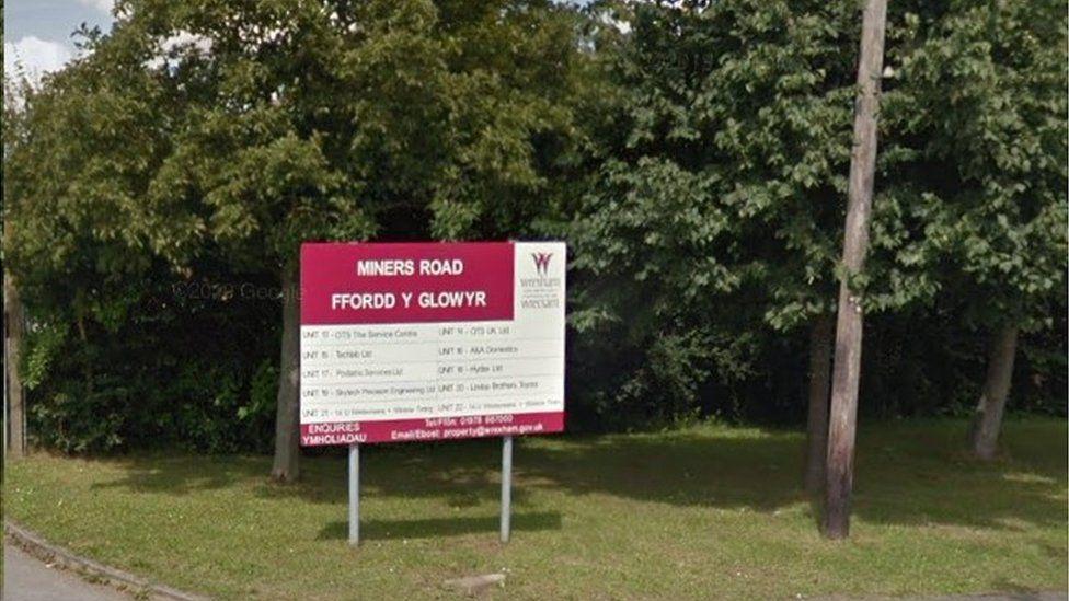 Miner Road sign