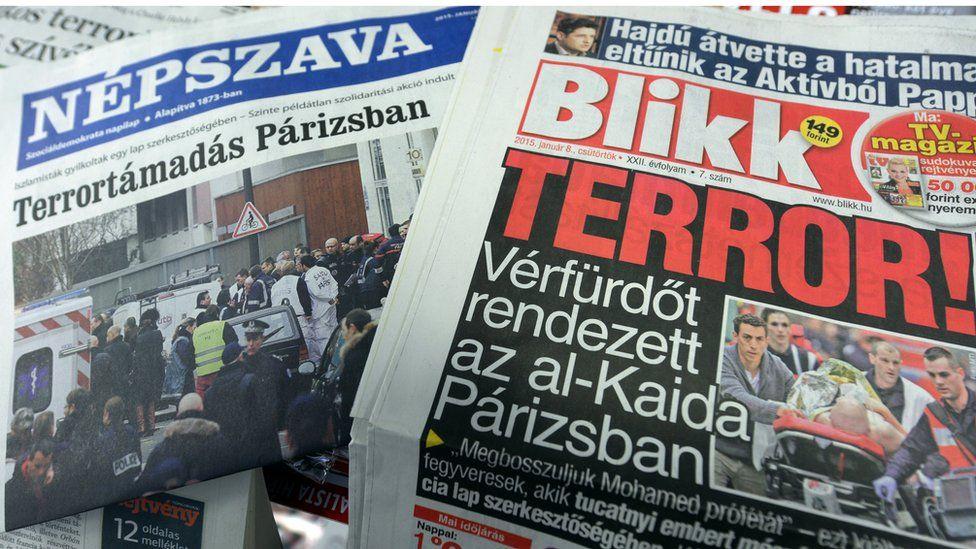 Hungarian newspapers