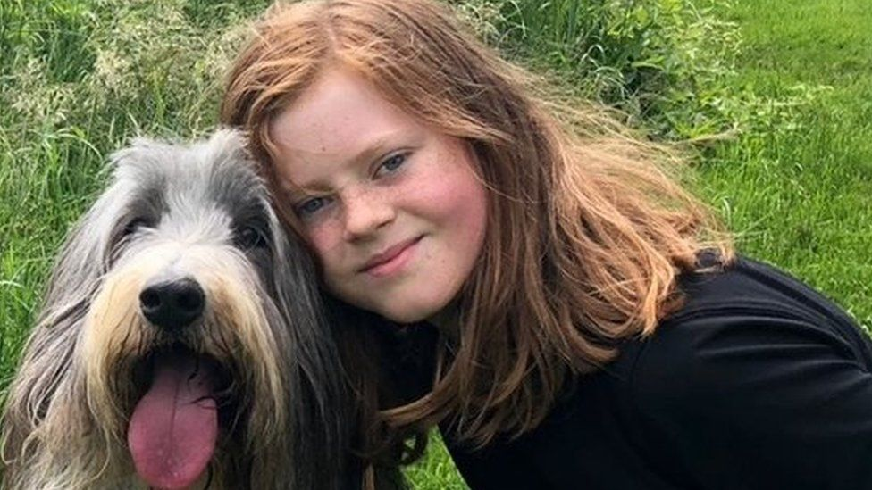 Libby and her dog Charlie
