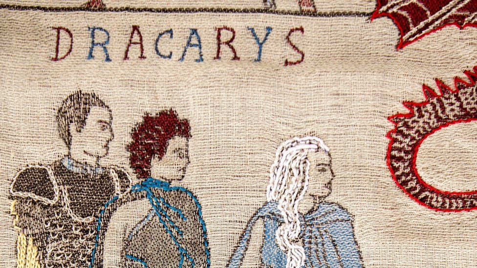 Part of the Game of Thrones tapestry
