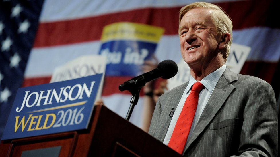 Bill Weld was running mate on the Libertarian ticket during the 2016 presidential election