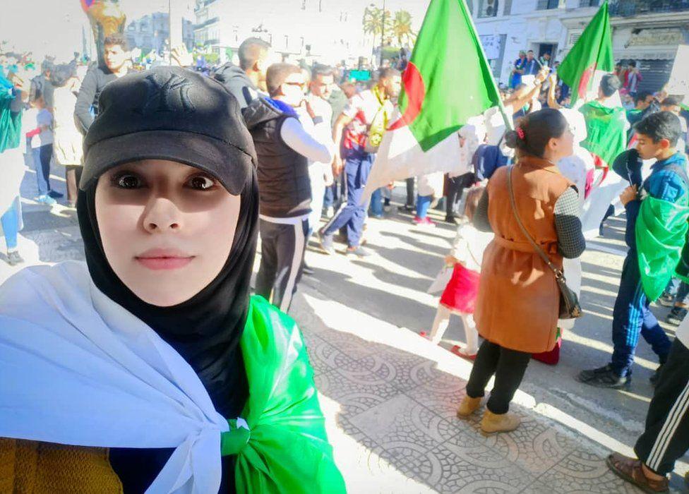 Nourhane Atmani on protest