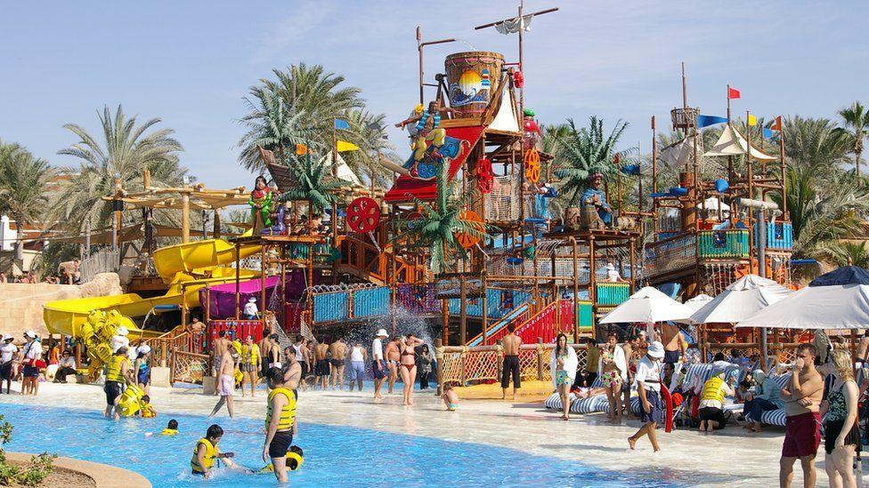 The Wild Wadi Waterpark in Dubai