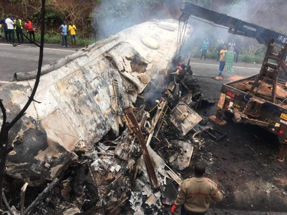 50 morts dans un accident de la route au Ghana