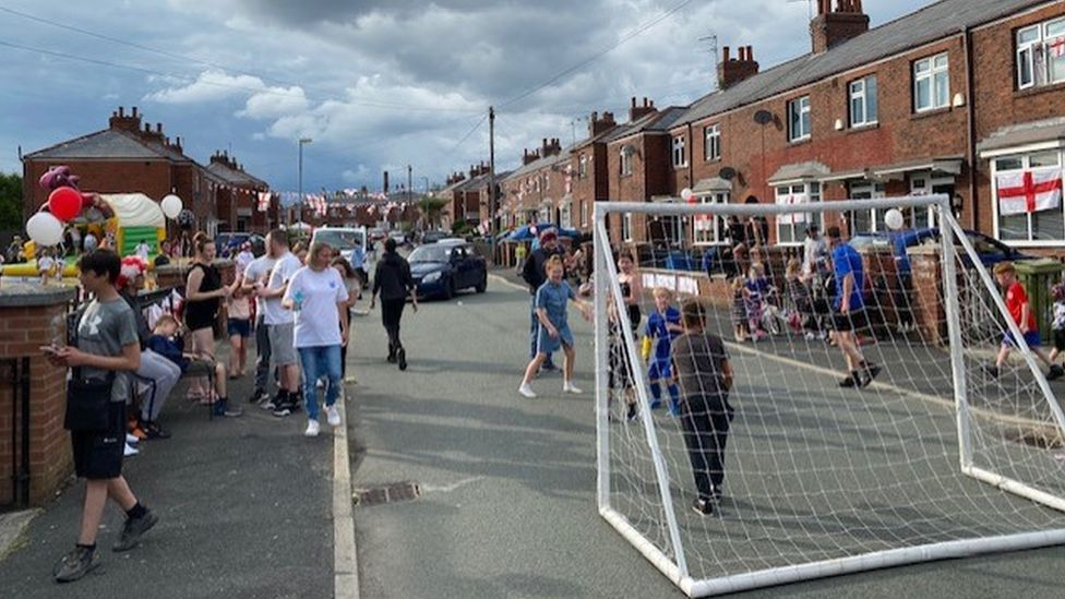 Fans in Oldham