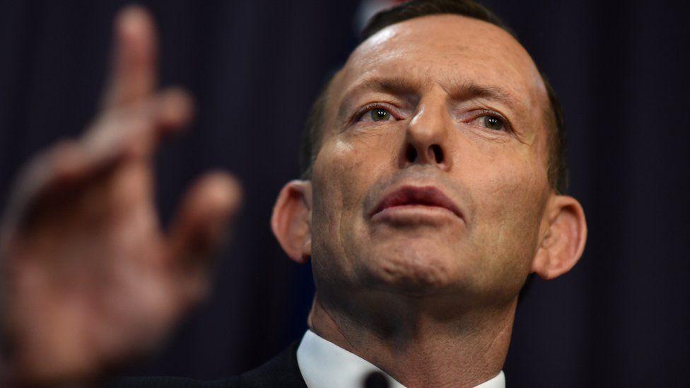 Australia PM Tony Abbott (Aug 2015)