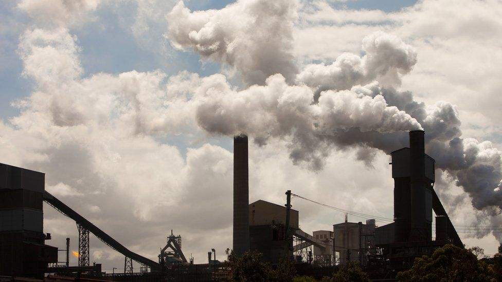 Port Kembla steelworks