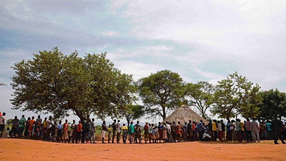 Refugees in northern Uganda