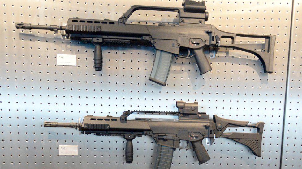 H&K G36 assault rifles, 2015 pic