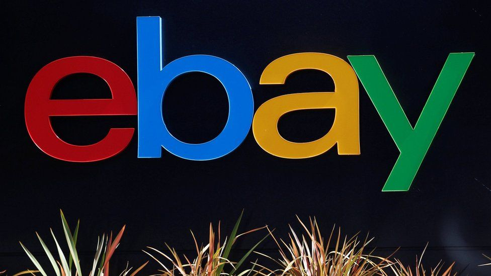 Ebay logo in California