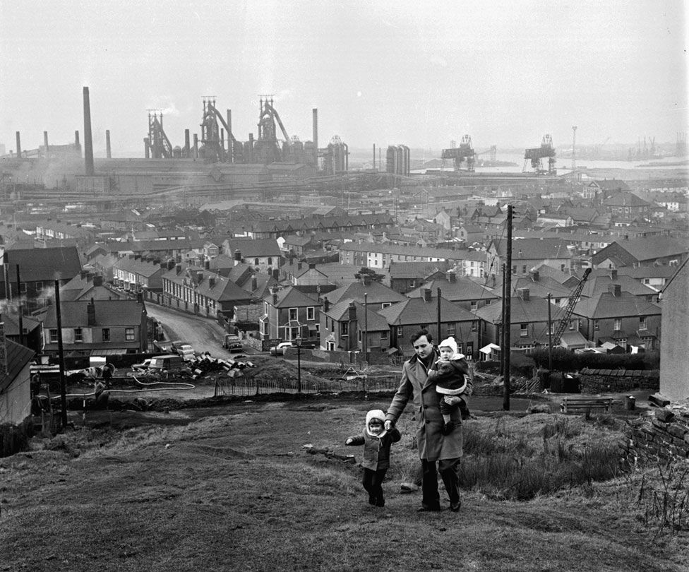 Port Talbot in the mid 1960s