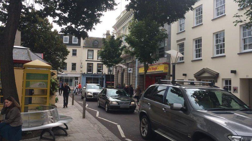 Cars in St Helier