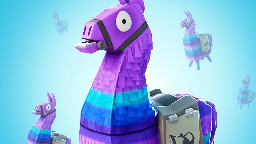 Fortnite supply llama