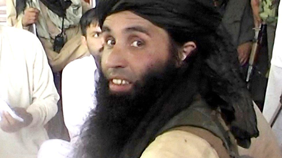 Mullah Fazlullah, former head of the Taliban in Pakistan