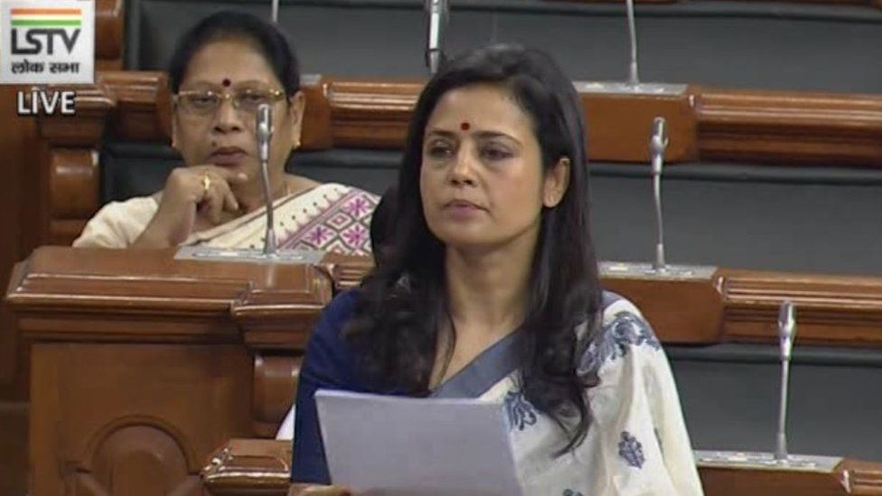 Indian MP Mahua Moitra's 'rising fascism' speech wins plaudits