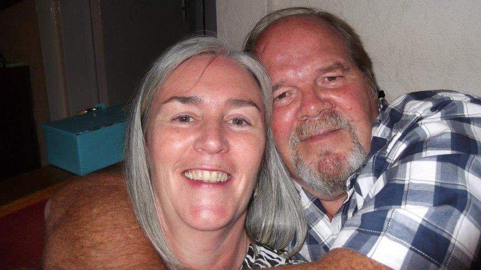 Sandra and Ian Wilson