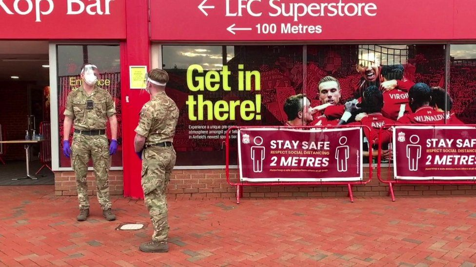 Anfield testing