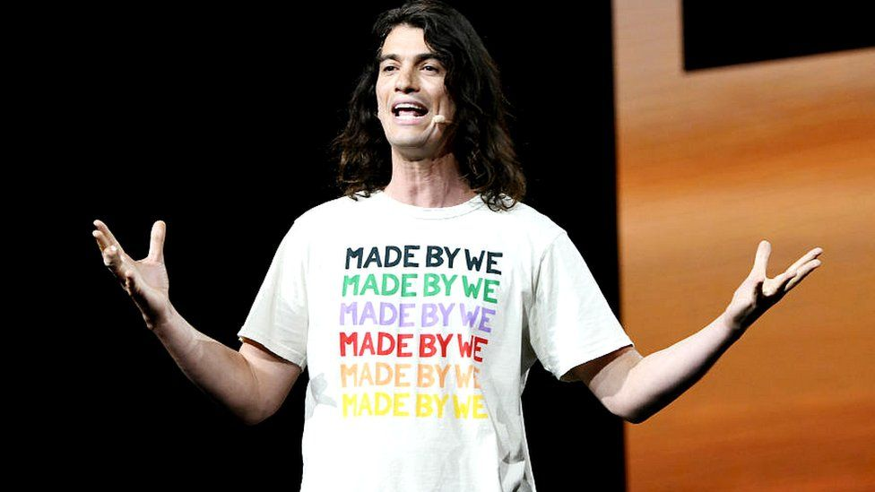 Adam Neumann is co-founder and chief executive of the We Company