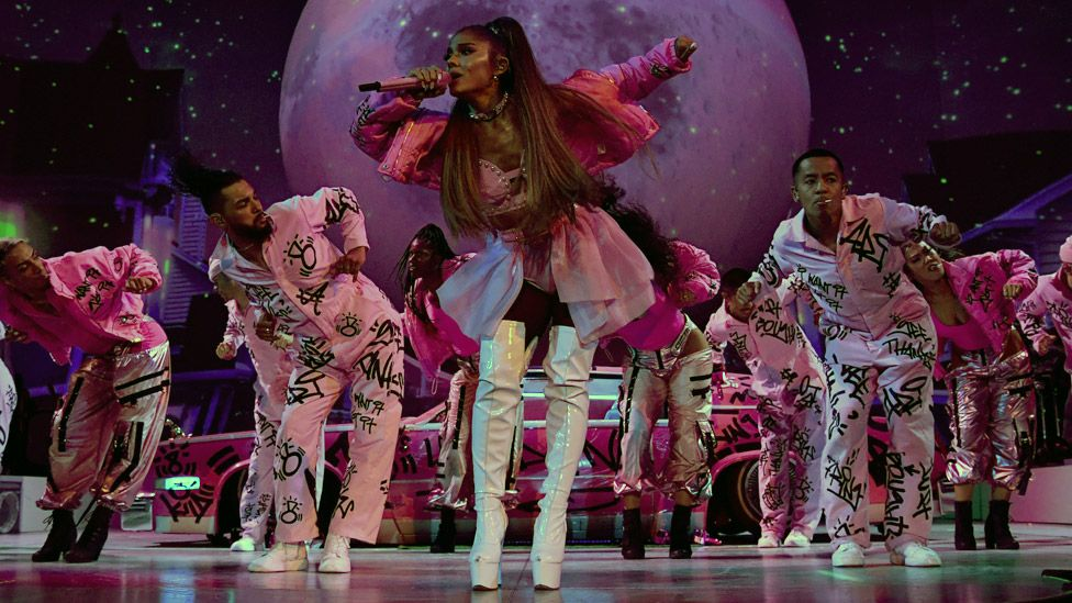 Ariana Grande 'overwhelmed' on return to Manchester at Pride