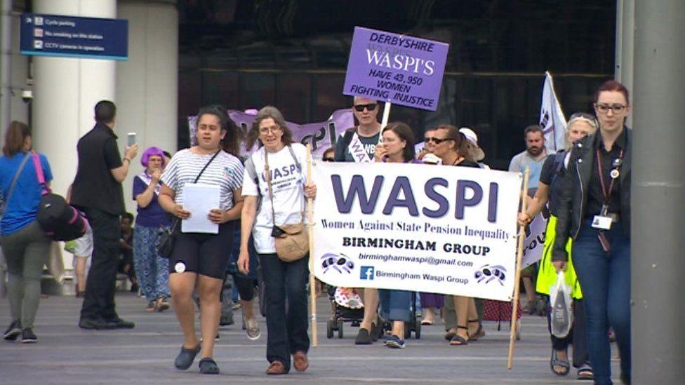 The rally in Birmingham