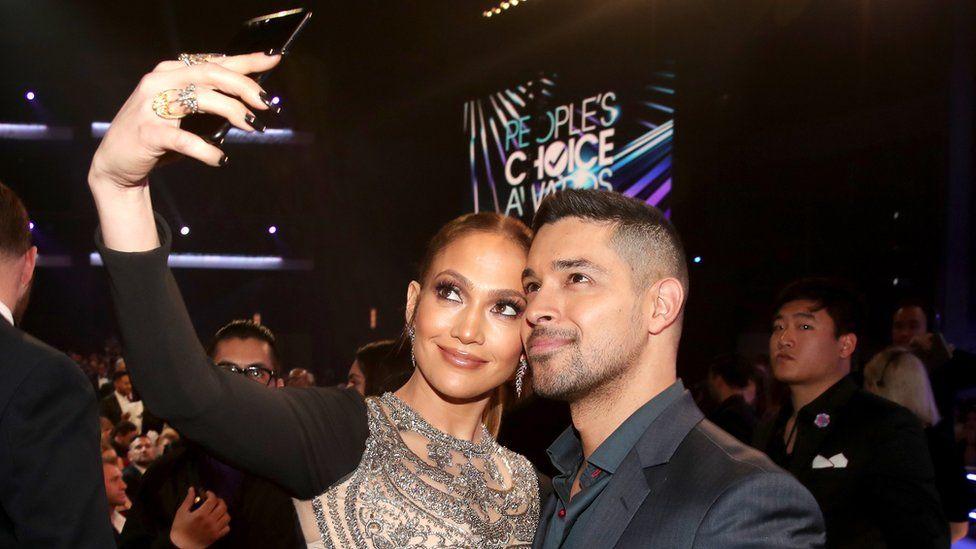 Jennifer Lopez and Wilmer Valderrama