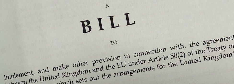 Withdrawal Agreement Bill