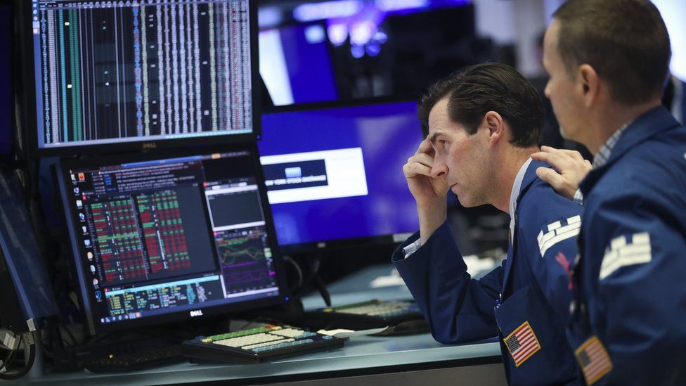 US stock market traders