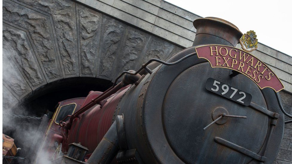 Olton Hall was first re-steamed in 1997, the same year JK Rowling published Harry Potter and the Philosopher's Stone