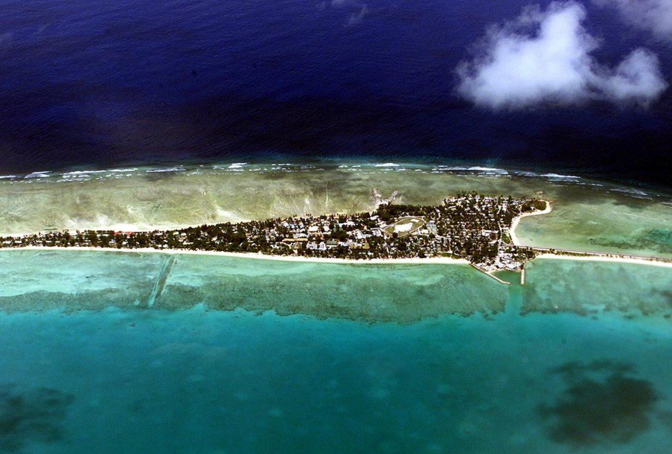 Vacant land is at a premium on Tarawa atoll, capital of the vast archipelago nation of Kiribati 11 September 2001, which has offered to accept some of 670 mainly Afghan refugees bound for neighbouring Nauru