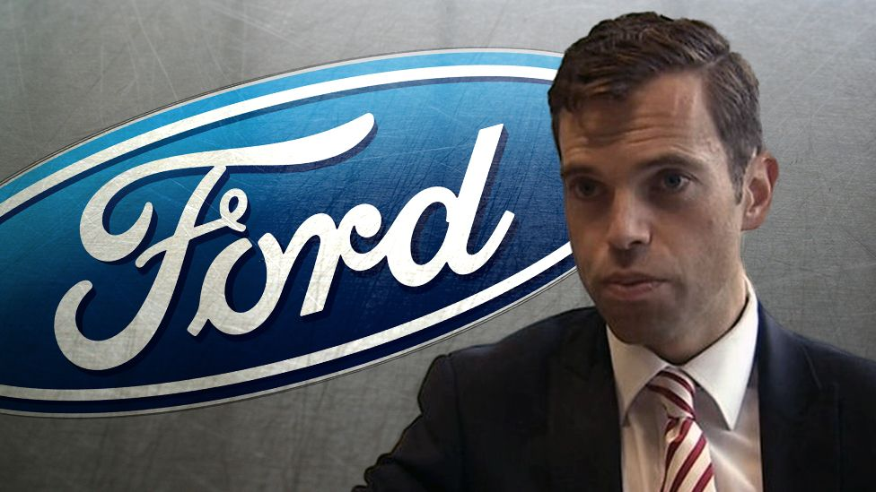 Ken Skates a Ford