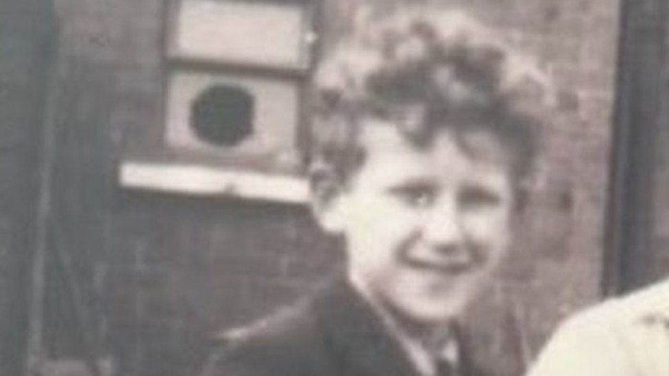 Paul Graham as a child