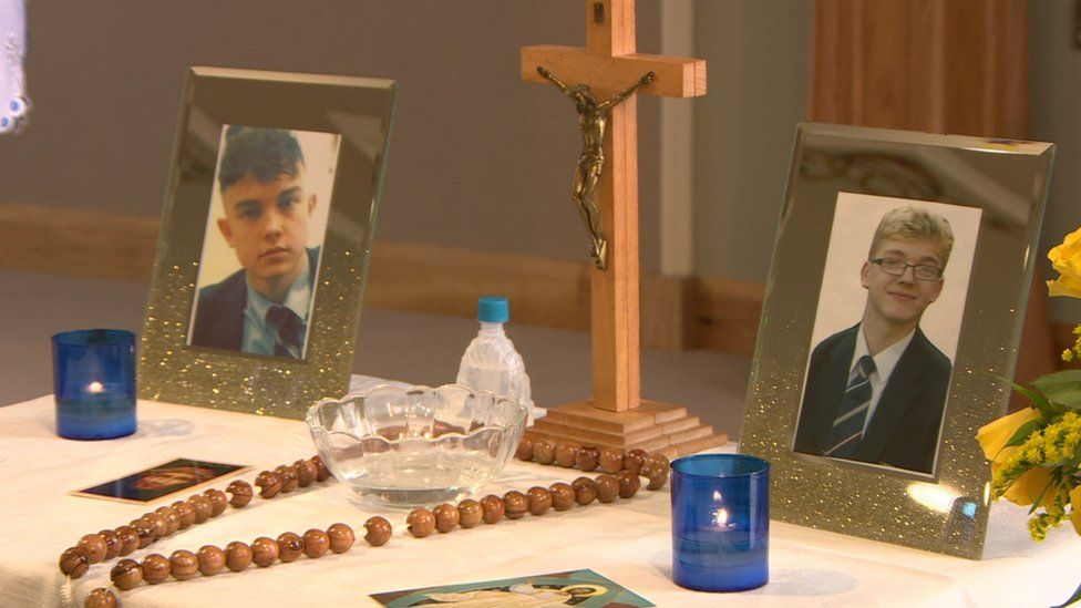 Memorial for Connor Currie and Morgan Barnard