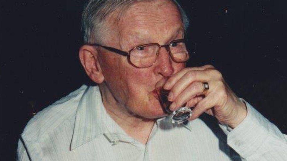 Ad de Leuuw's late father