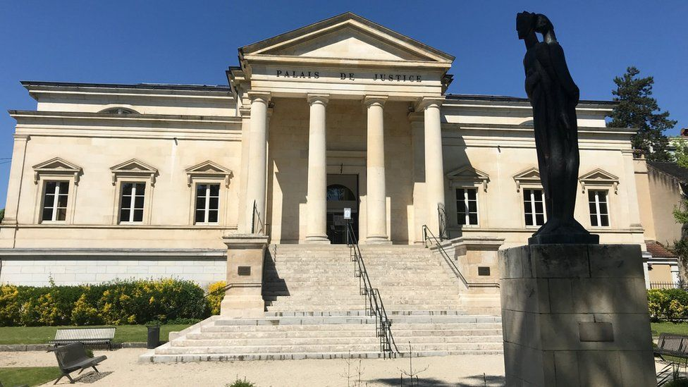 Court house in Cahors in Lot