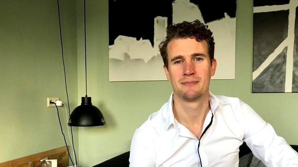 Christian Ayerst, chief executive and co-founder of Hidols