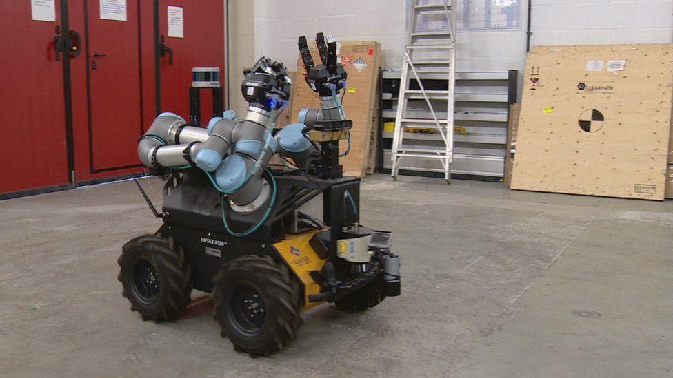 Gritter robot