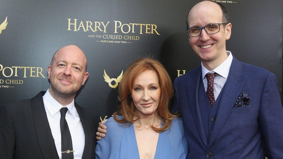 John Tiffany, JK Rowling and Jack Thorne
