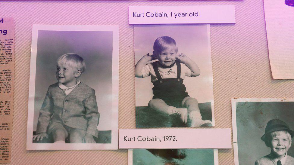 Kurt Cobain's childhood photos