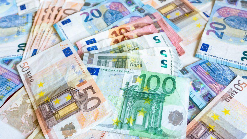 Euro bills - file picture