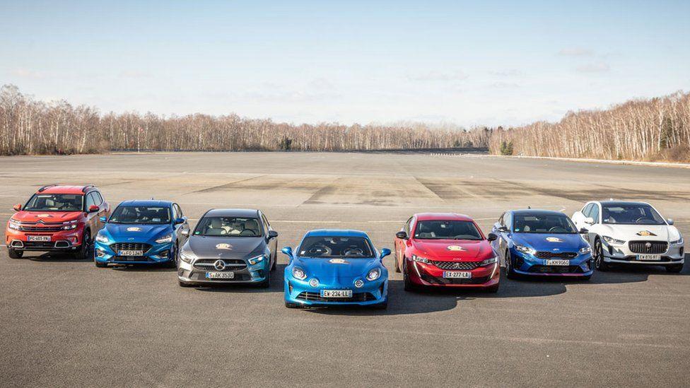 هفت ماشین به مرحله نهایی انتخاب بهترین خودروی سال راه یافته بودند