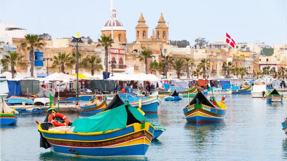 Barcos en Malta