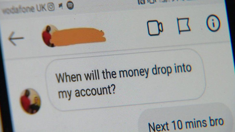 Social Media Used By Fraudsters To Advertise Benefit Scam Bbc News