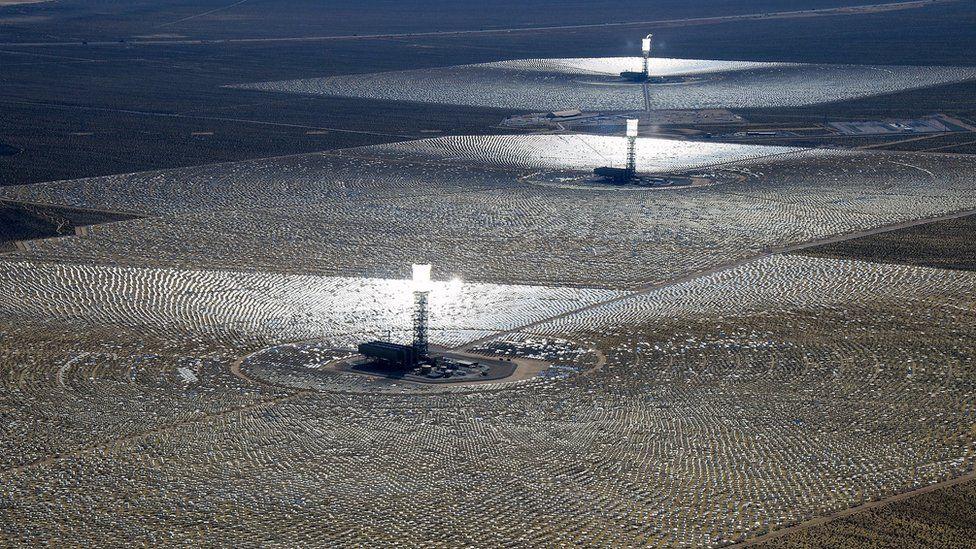 The Ivanpah Solar Electric Generating System
