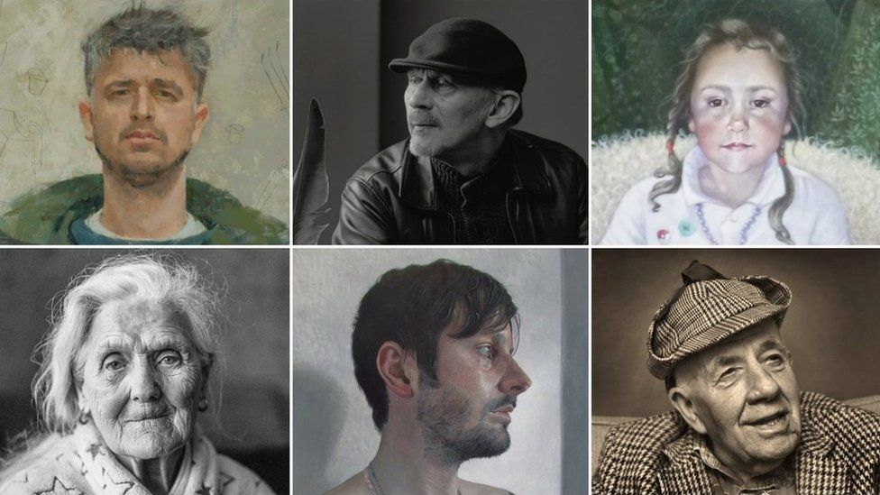 Portraits and photographs from the 2017 Scottish Portrait Awards