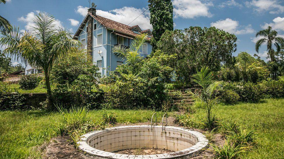 Casa construída por Jaime Paiva na fazenda Caraitá