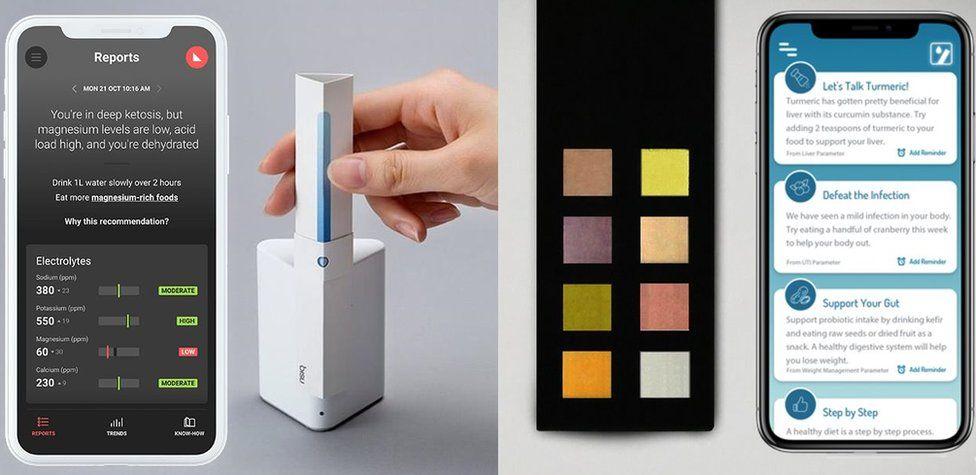 Smart urine analysers